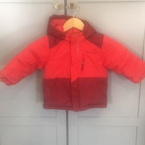 Toddler winter ski jacket